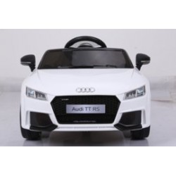 Audi TT RS 12V wit, 2.4ghz...