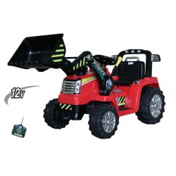 Tractor rood 12V7ah, 2.4ghz...